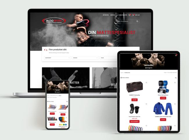 Budosport-website